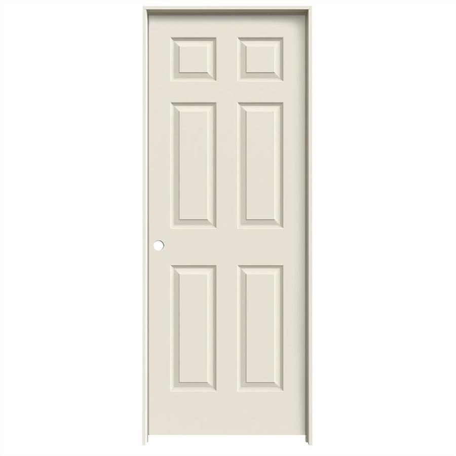JELD-WEN Colonist Single Prehung Interior Door (Common: 32-in x 80-in; Actual: 33.562-in x 81.688-in)