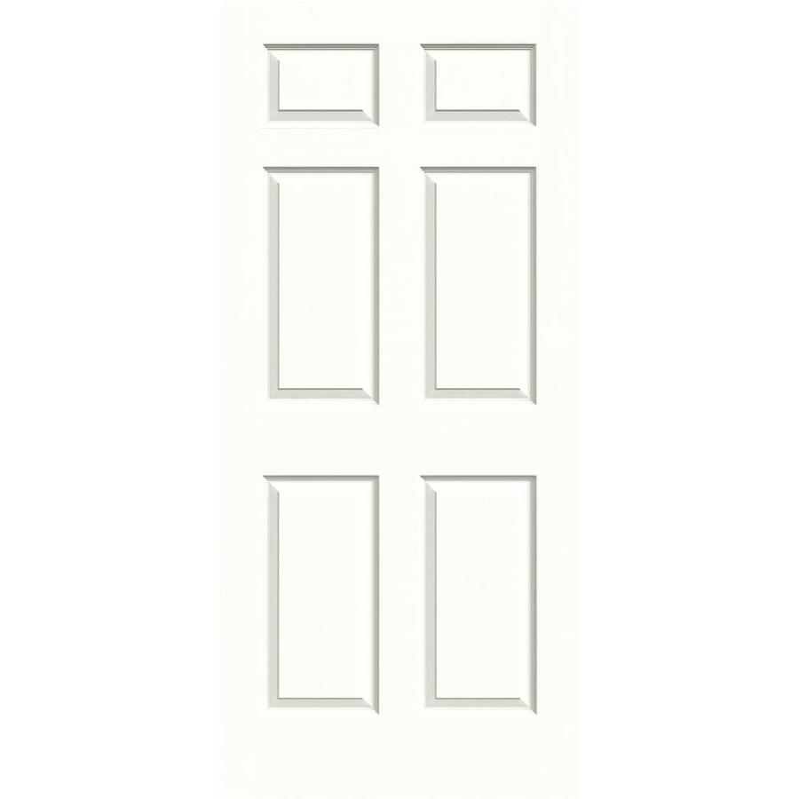 JELD-WEN Colonist Snow Storm Solid Core Molded Composite Slab Interior Door (Common: 36-in x 80-in; Actual: 36-in x 80-in)