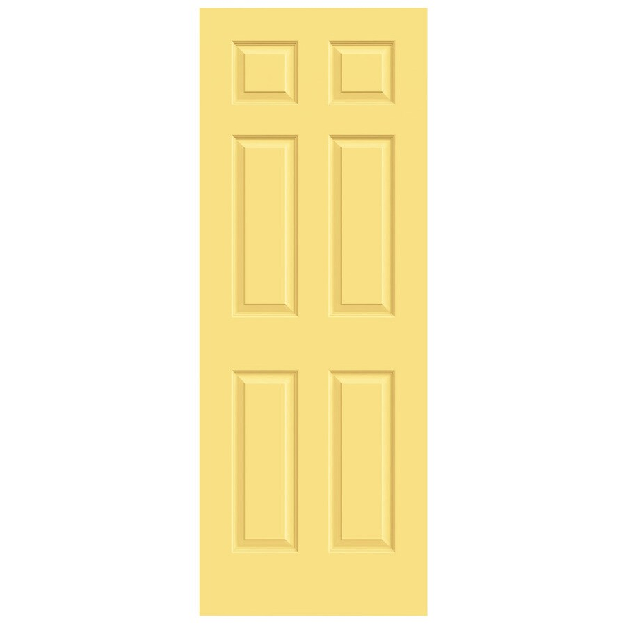 JELD-WEN Colonist Marigold Slab Interior Door (Common: 24-in x 80-in; Actual: 24-in x 80-in)