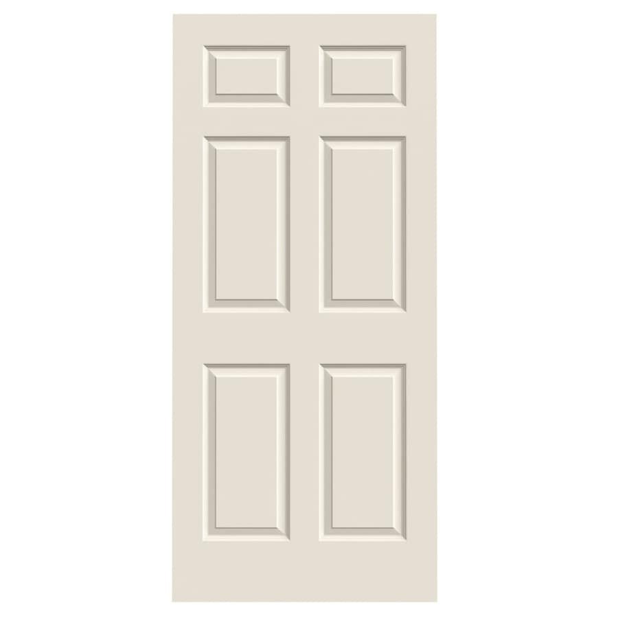 JELD-WEN 6-panel Slab Interior Door (Common: 36-in x 80-in; Actual: 36-in x 80-in)