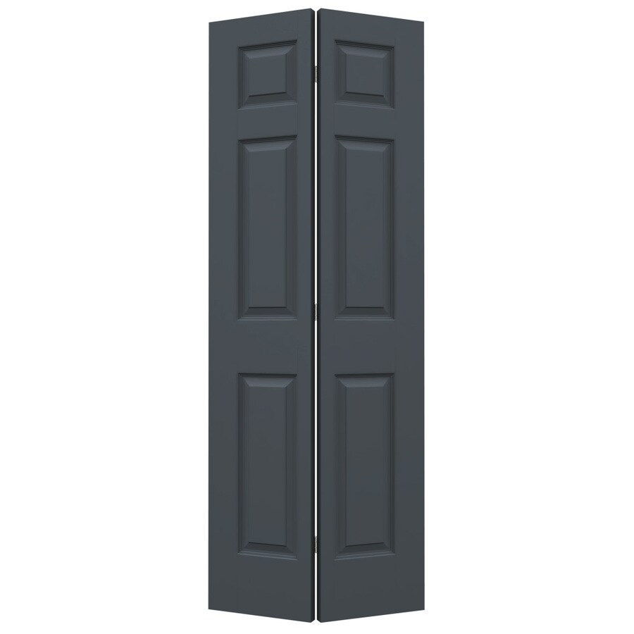 Shop jeld wen colonist slate hollow core molded composite for 27 inch bifold interior doors
