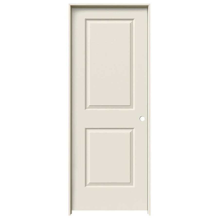 Shop Jeld Wen Cambridge Primed Solid Core Molded Composite Single Prehung Interior Door Common