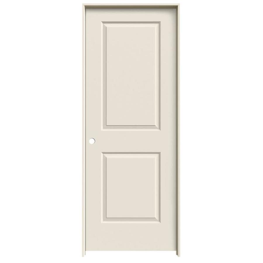 ReliaBilt 2-panel Square Single Prehung Interior Door (Common: 32-in x 80-in; Actual: 33.562-in x 81.688-in)