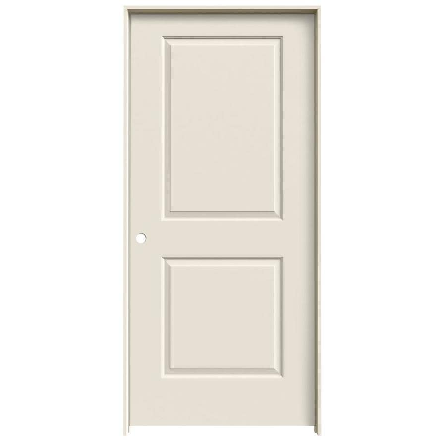 ReliaBilt Prehung Hollow Core 2-Panel Square Interior Door (Common: 36-in x 80-in; Actual: 37.562-in x 81.688-in)