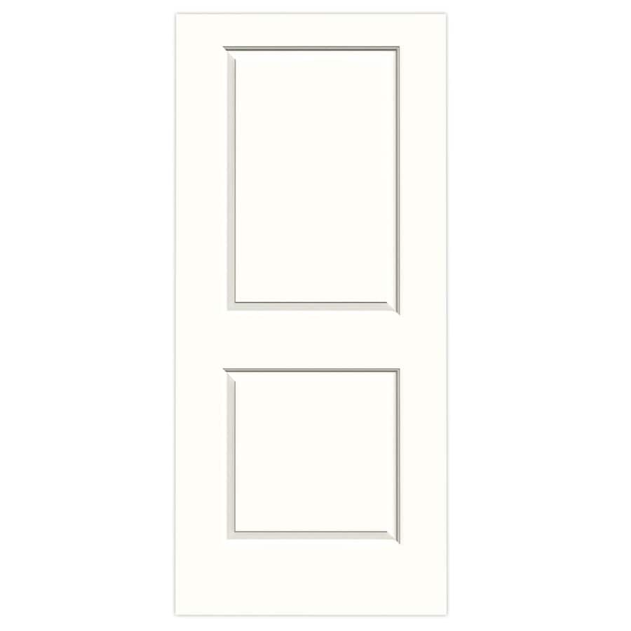 JELD-WEN Cambridge Snow Storm Hollow Core Molded Composite Slab Interior Door (Common: 36-in x 80-in; Actual: 36-in x 80-in)