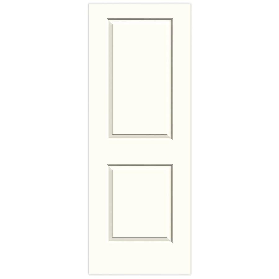 JELD-WEN Moonglow 2-panel Square Slab Interior Door (Common: 28-in x 80-in; Actual: 28-in x 80-in)