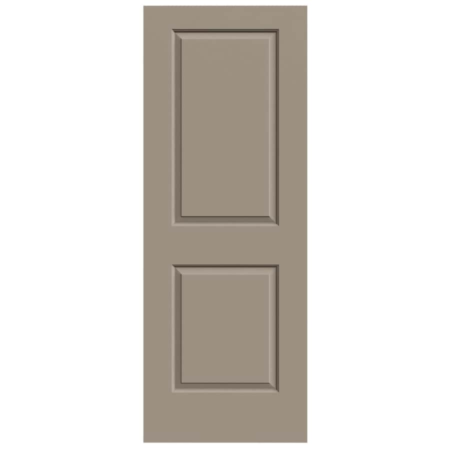 JELD-WEN Sand Piper Hollow Core 2-Panel Square Slab Interior Door (Common: 24-in x 80-in; Actual: 24-in x 80-in)