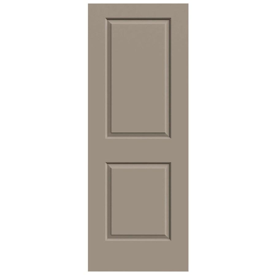 JELD-WEN Cambridge Sand Piper Hollow Core Molded Composite Slab Interior Door (Common: 28-in x 80-in; Actual: 28-in x 80-in)