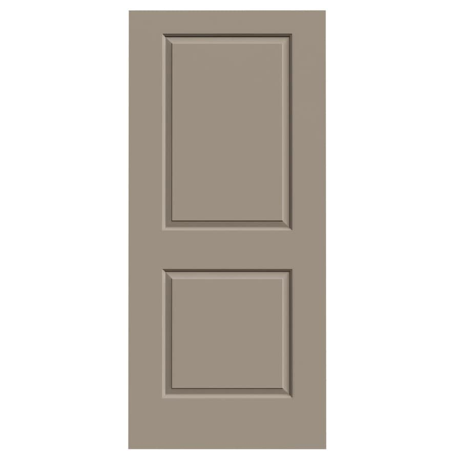 JELD-WEN Cambridge Sand Piper Hollow Core Molded Composite Slab Interior Door (Common: 36-in x 80-in; Actual: 36-in x 80-in)