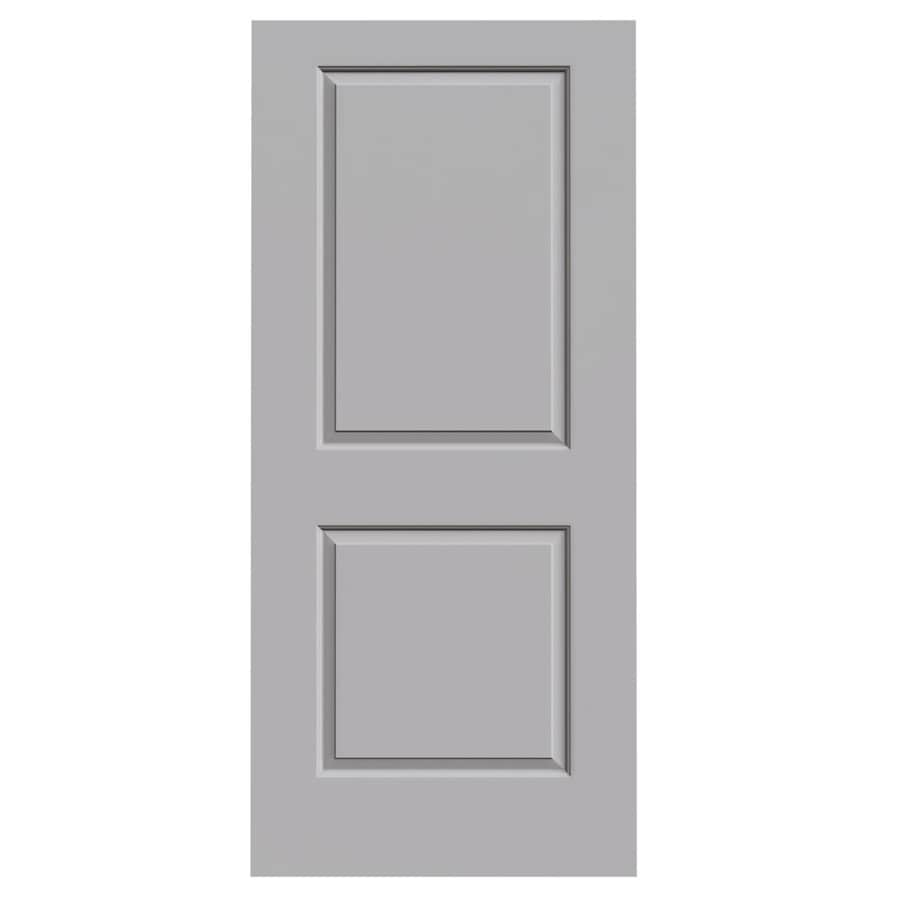 JELD-WEN Driftwood Hollow Core 2-Panel Square Slab Interior Door (Common: 36-in x 80-in; Actual: 36-in x 80-in)