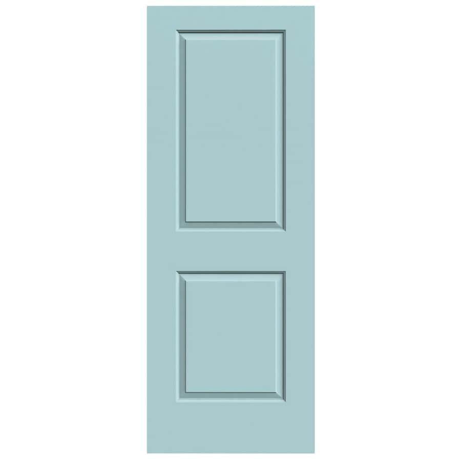 JELD-WEN Cambridge Sea Mist Hollow Core Molded Composite Slab Interior Door (Common: 30-in x 80-in; Actual: 30-in x 80-in)