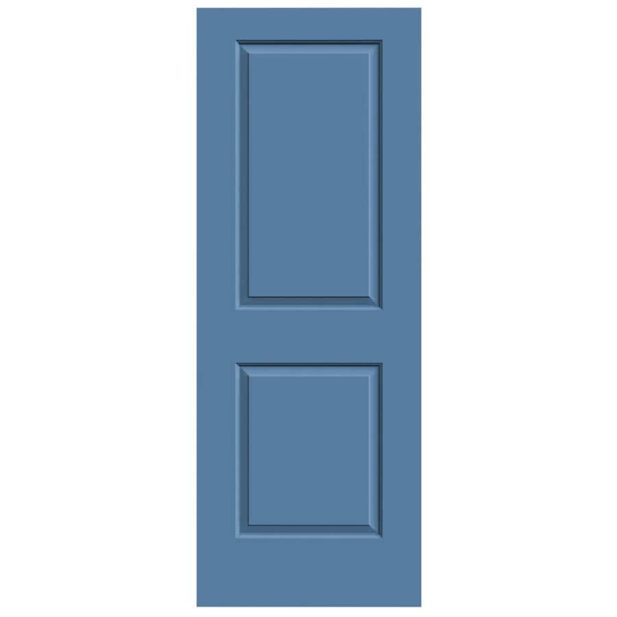 JELD-WEN Blue Heron Hollow Core 2-Panel Square Slab Interior Door (Common: 24-in x 80-in; Actual: 24-in x 80-in)