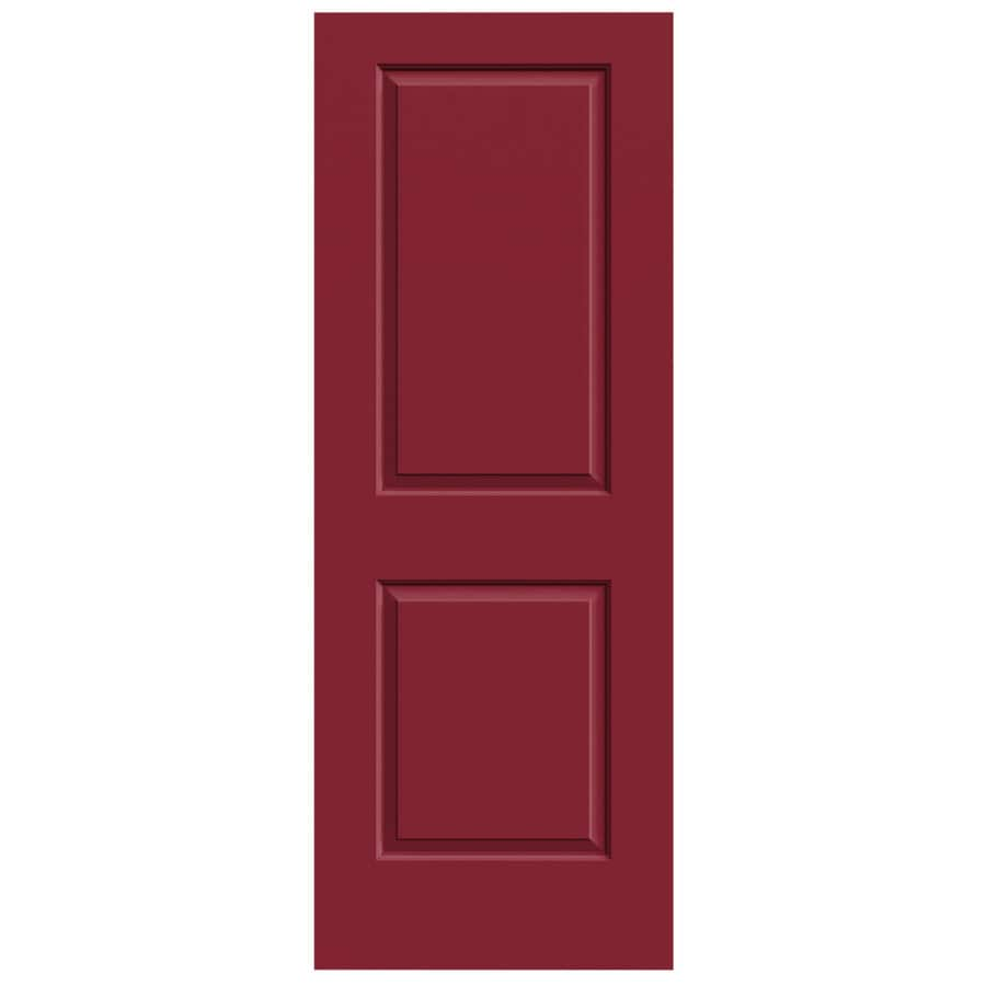 Shop jeld wen cambridge barn red hollow core molded composite slab interior door common 28 in - Hollow core interior doors lowes ...