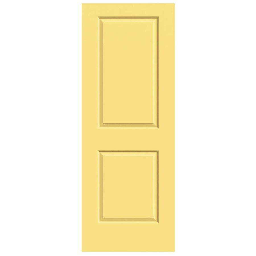 JELD-WEN Marigold Hollow Core 2-Panel Square Slab Interior Door (Common: 30-in x 80-in; Actual: 30-in x 80-in)