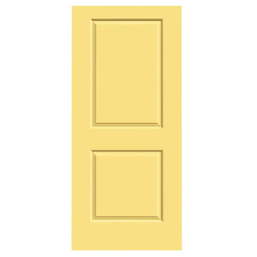 JELD-WEN Cambridge Marigold Hollow Core Molded Composite Slab Interior Door (Common: 36-in x 80-in; Actual: 36-in x 80-in)