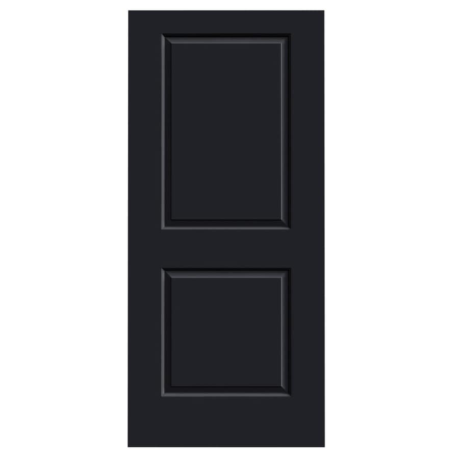 JELD-WEN Midnight Hollow Core 2-Panel Square Slab Interior Door (Common: 36-in x 80-in; Actual: 36-in x 80-in)