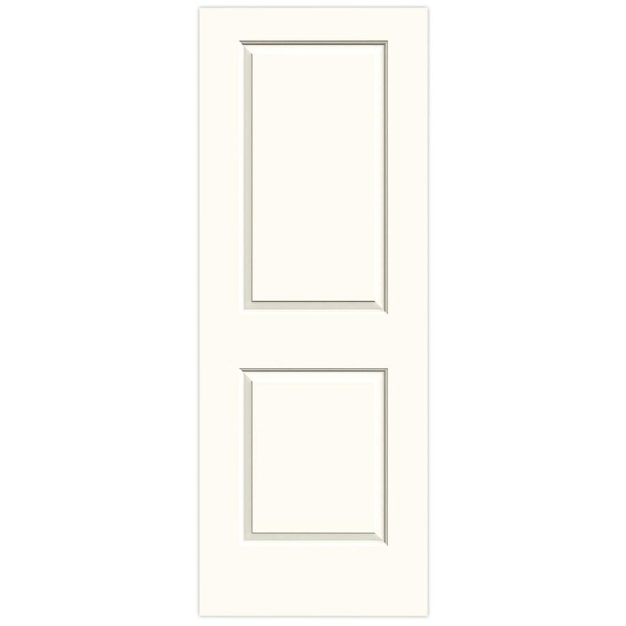JELD-WEN White Solid Core 2-Panel Square Slab Interior Door (Common: 30-in x 80-in; Actual: 30-in x 80-in)