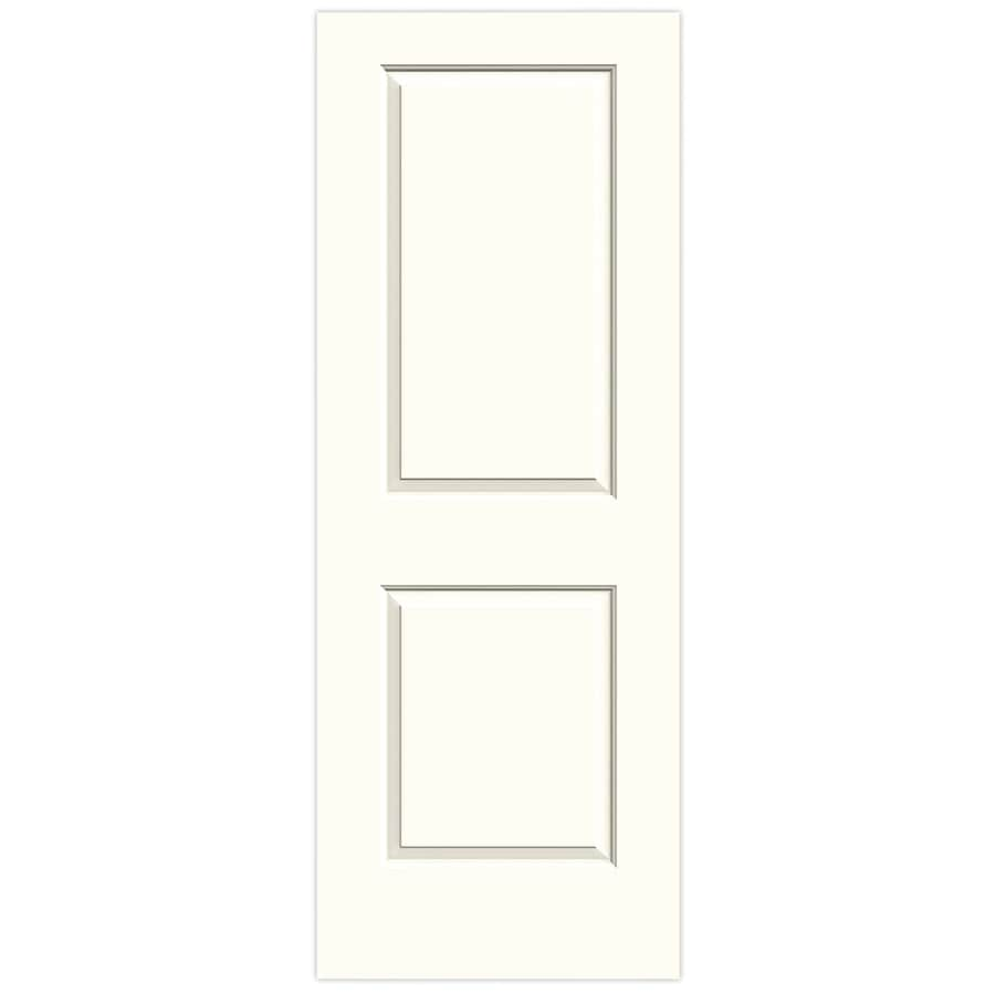 JELD-WEN Cambridge Moonglow Solid Core Molded Composite Slab Interior Door (Common: 28-in x 80-in; Actual: 28-in x 80-in)