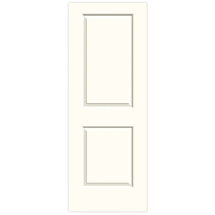 JELD-WEN Cambridge Moonglow Solid Core Molded Composite Slab Interior Door (Common: 32-in x 80-in; Actual: 32-in x 80-in)