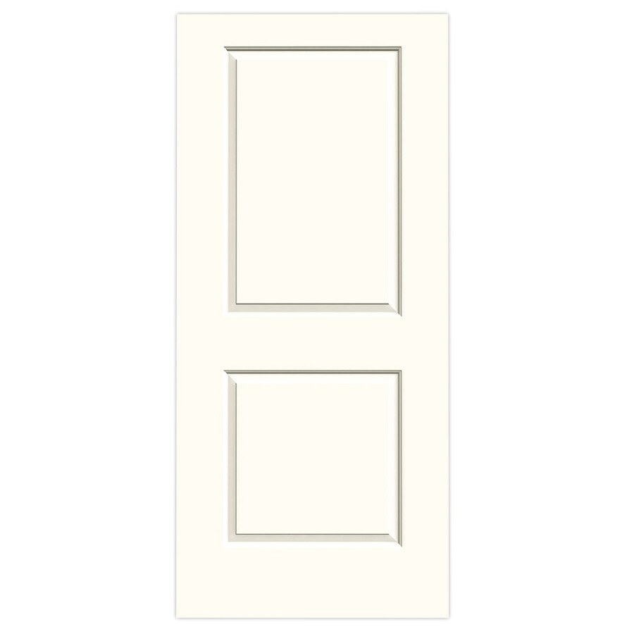 JELD-WEN Cambridge Moonglow Solid Core Molded Composite Slab Interior Door (Common: 36-in x 80-in; Actual: 36-in x 80-in)
