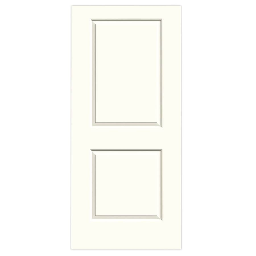 JELD-WEN Moonglow Solid Core 2-Panel Square Slab Interior Door (Common: 36-in x 80-in; Actual: 36-in x 80-in)