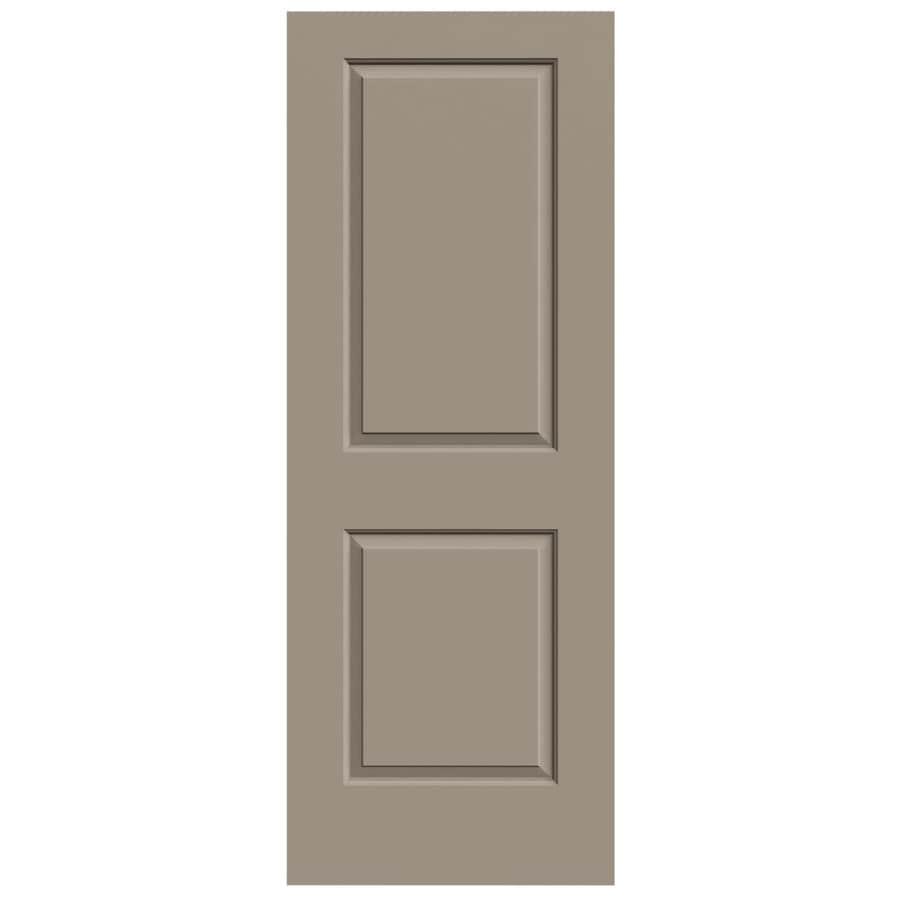 JELD-WEN Sand Piper Solid Core 2-Panel Square Slab Interior Door (Common: 30-in x 80-in; Actual: 30-in x 80-in)