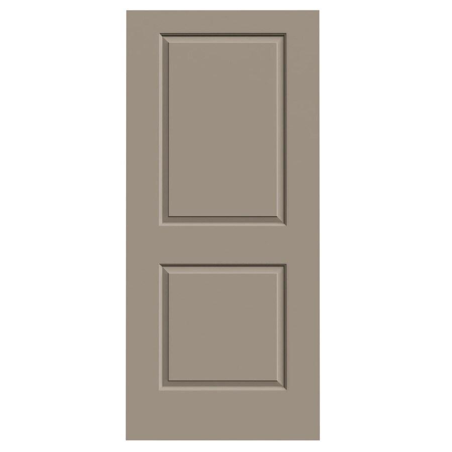 JELD-WEN Sand Piper Solid Core 2-Panel Square Slab Interior Door (Common: 36-in x 80-in; Actual: 36-in x 80-in)