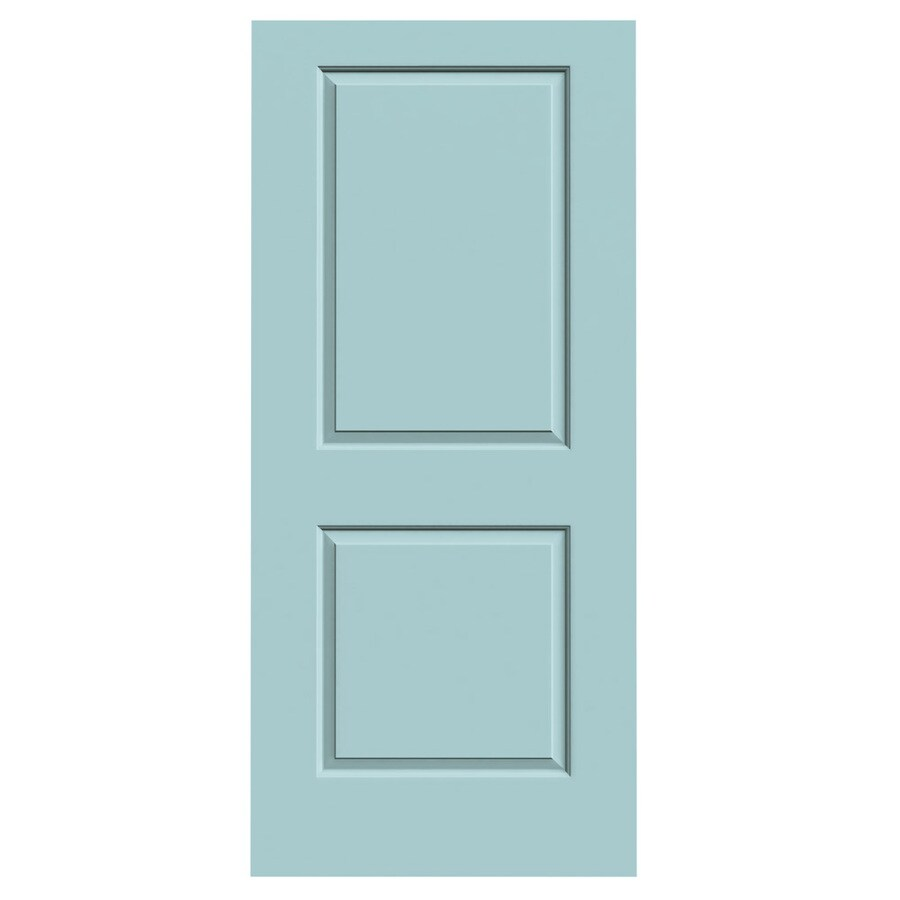 JELD-WEN Sea Mist 2-panel Square Slab Interior Door (Common: 36-in x 80-in; Actual: 36-in x 80-in)