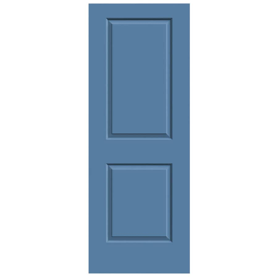 JELD-WEN Blue Heron Solid Core 2-Panel Square Slab Interior Door (Common: 28-in x 80-in; Actual: 28-in x 80-in)