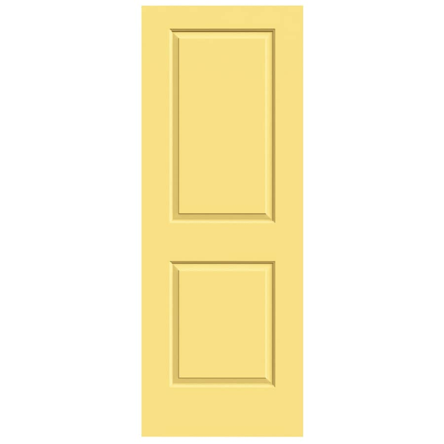 JELD-WEN Marigold Solid Core 2-Panel Square Slab Interior Door (Common: 28-in x 80-in; Actual: 28-in x 80-in)