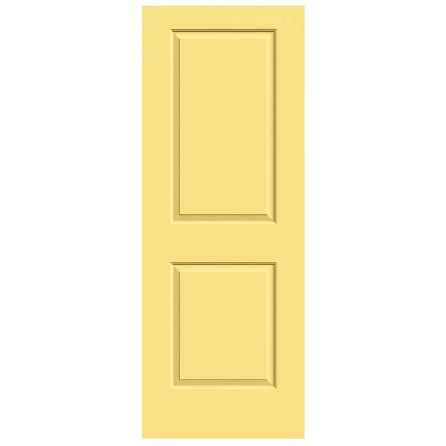 JELD-WEN Cambridge Marigold Solid Core Molded Composite Slab Interior Door (Common: 32-in x 80-in; Actual: 32-in x 80-in)