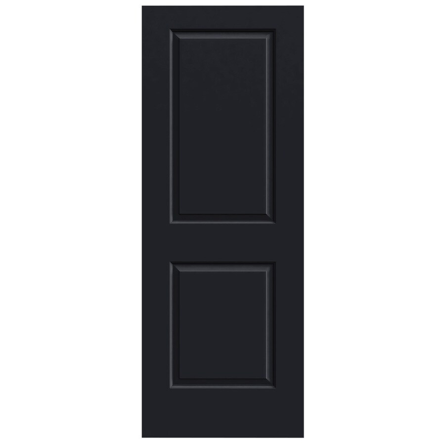 JELD-WEN Cambridge Midnight Solid Core Molded Composite Slab Interior Door (Common: 24-in x 80-in; Actual: 24-in x 80-in)