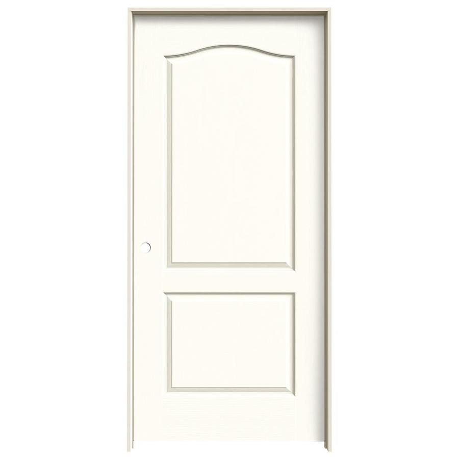 JELD-WEN Camden Moonglow Single Prehung Interior Door (Common: 36-in x 80-in; Actual: 37.5620-in x 81.6880-in)