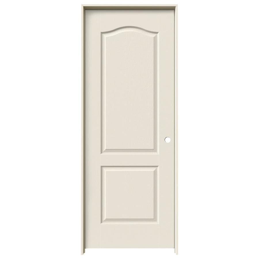 JELD-WEN 2-panel Arch Top Single Prehung Interior Door (Common: 28-in x 80-in; Actual: 29.562-in x 81.688-in)