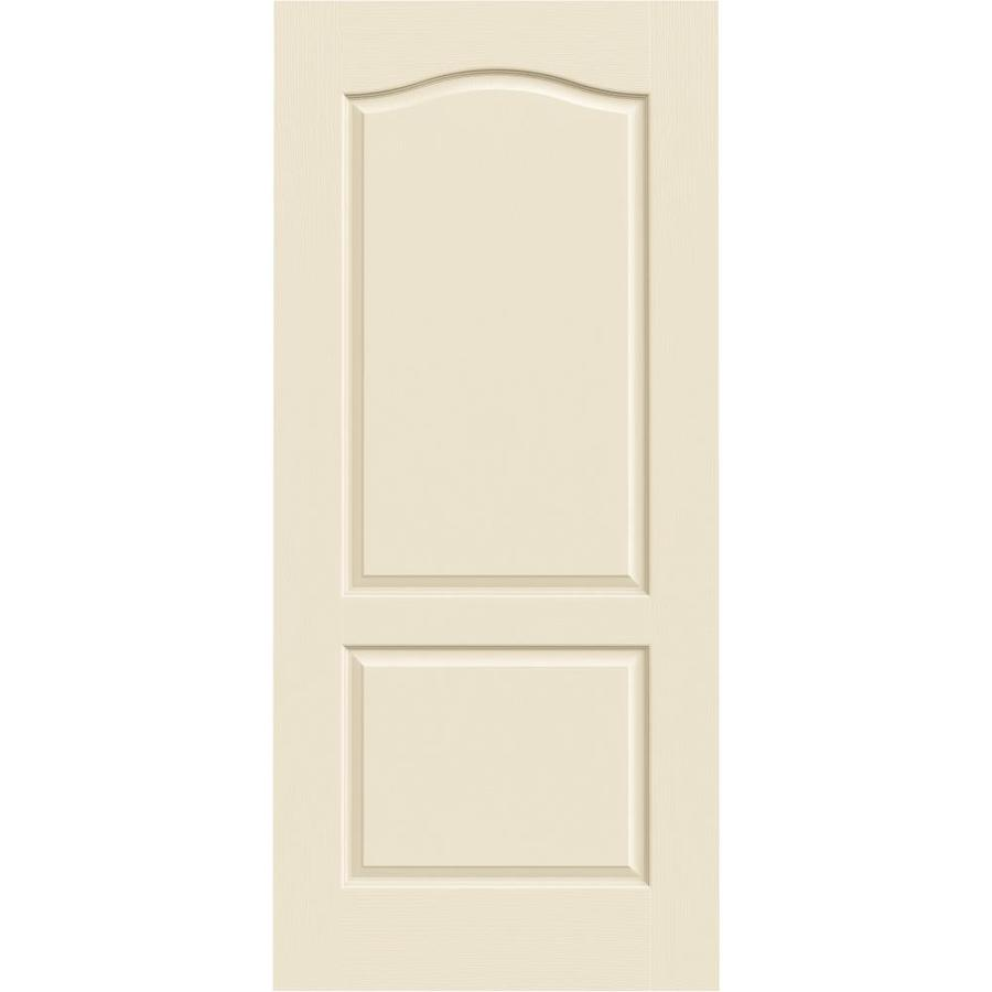 JELD-WEN Camden Cream-N-Sugar Solid Core Molded Composite Slab Interior Door (Common: 36-in x 80-in; Actual: 36-in x 80-in)