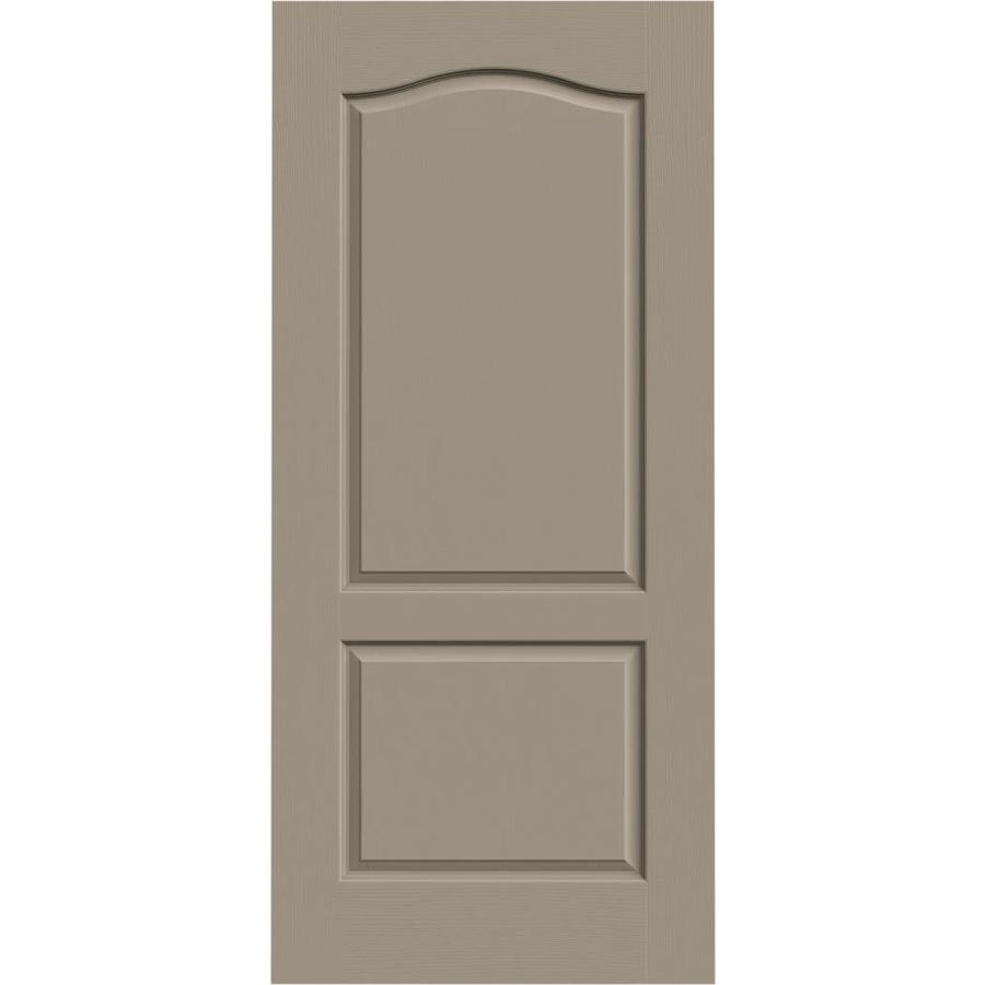 JELD-WEN Camden Sand Piper Solid Core Molded Composite Slab Interior Door (Common: 36-in x 80-in; Actual: 36-in x 80-in)