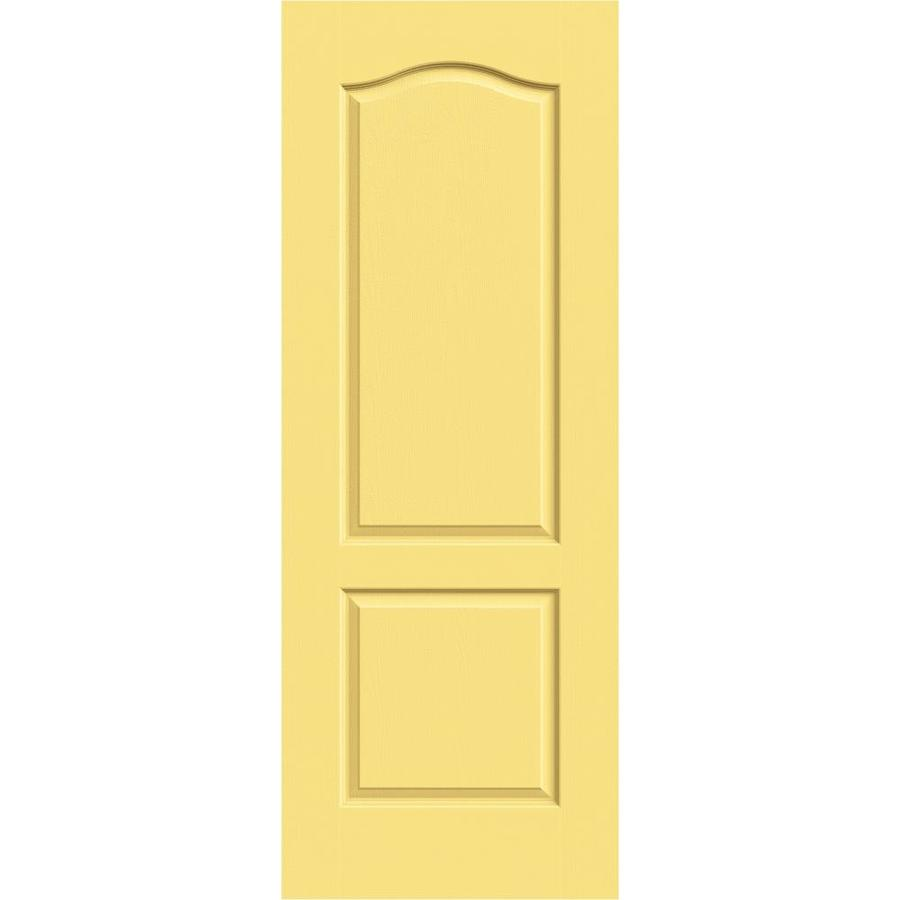 JELD-WEN Camden Marigold Solid Core Molded Composite Slab Interior Door (Common: 24-in x 80-in; Actual: 24-in x 80-in)