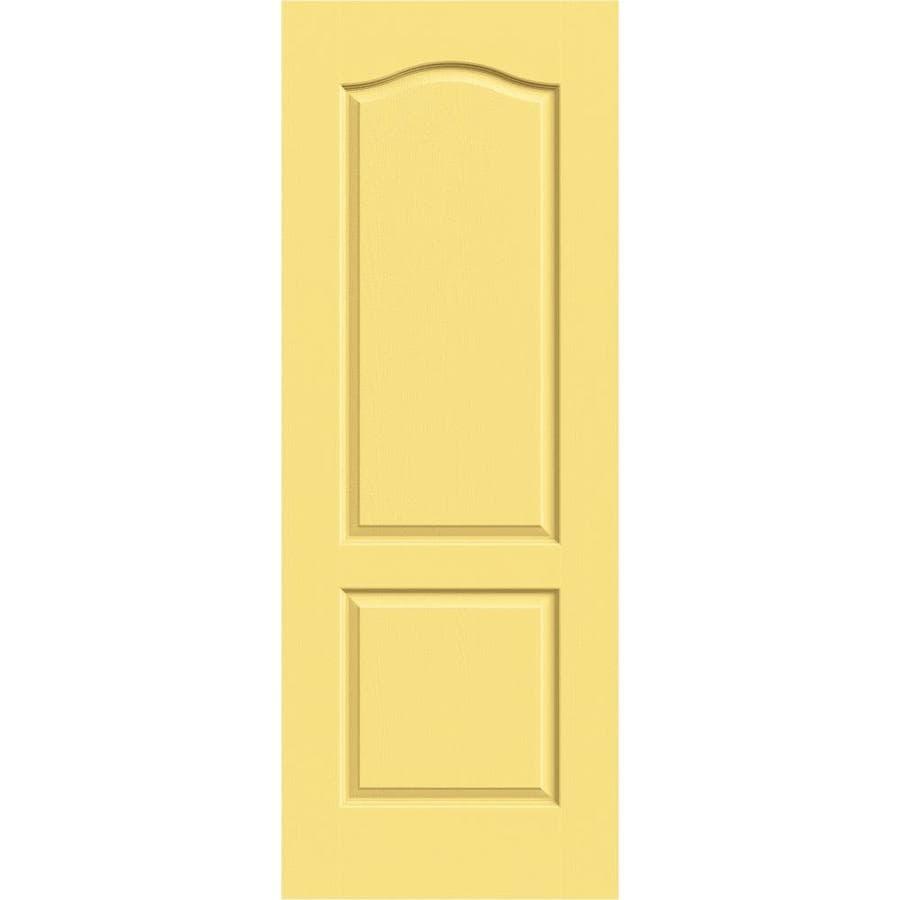 JELD-WEN Camden Marigold Slab Interior Door (Common: 28-in x 80-in; Actual: 28-in x 80-in)