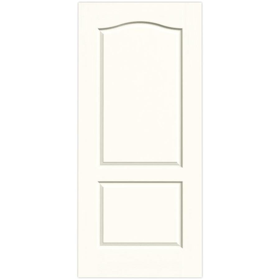 JELD-WEN Moonglow Hollow Core 2-Panel Arch Top Slab Interior Door (Common: 36-in x 80-in; Actual: 36-in x 80-in)