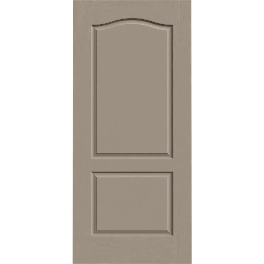 JELD-WEN Camden Sand Piper Slab Interior Door (Common: 36-in x 80-in; Actual: 36-in x 80-in)