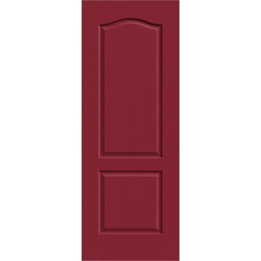 JELD-WEN Camden Barn Red Slab Interior Door (Common: 30-in x 80-in; Actual: 30-in x 80-in)