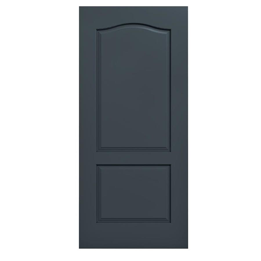 JELD-WEN Camden Slate Hollow Core Molded Composite Slab Interior Door (Common: 36-in x 80-in; Actual: 36-in x 80-in)