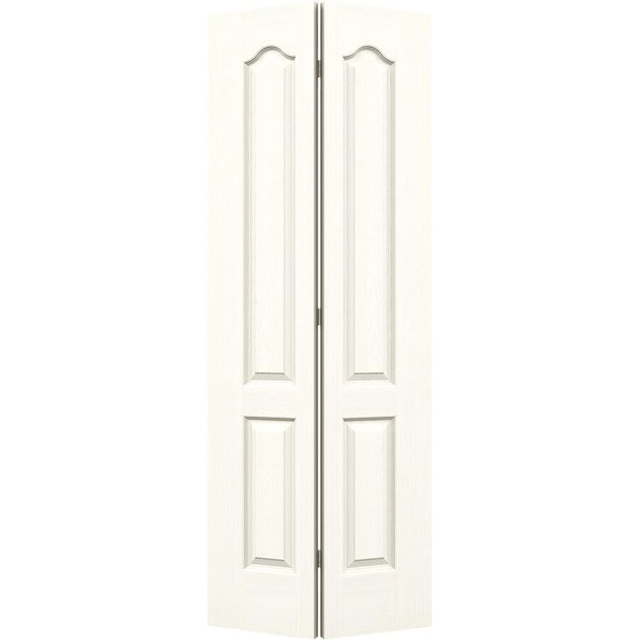 JELD-WEN Moonglow Hollow Core 2-Panel Arch Top Bi-Fold Closet Interior Door (Common: 36-in x 80-in; Actual: 35.5-in x 79-in)