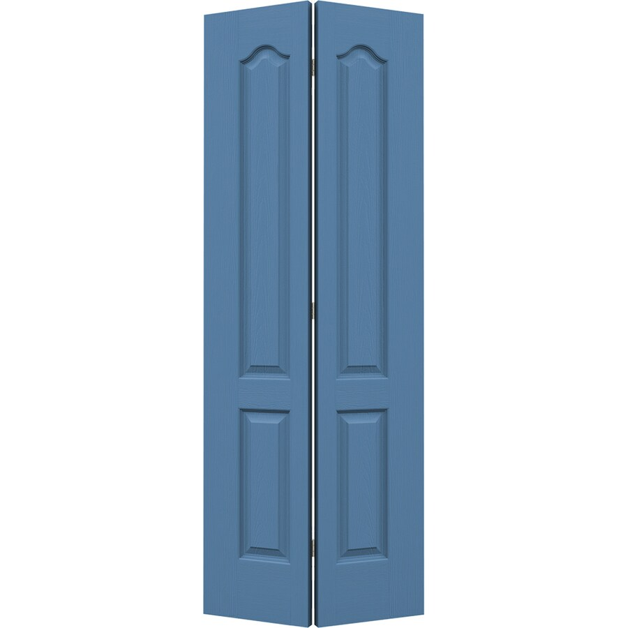 JELD-WEN Blue Heron Hollow Core 2-Panel Arch Top Bi-Fold Closet Interior Door (Common: 32-in x 80-in; Actual: 31.5-in x 79-in)