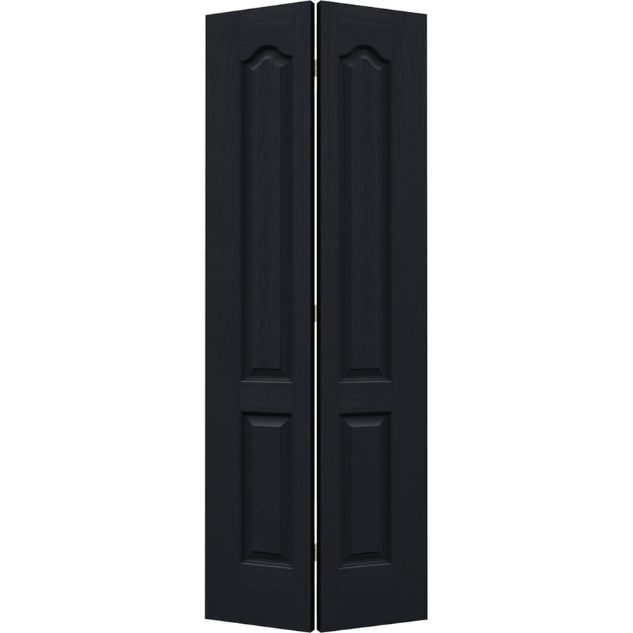 JELD-WEN Midnight Hollow Core 2-Panel Arch Top Bi-Fold Closet Interior Door (Common: 36-in x 80-in; Actual: 35.5-in x 79-in)