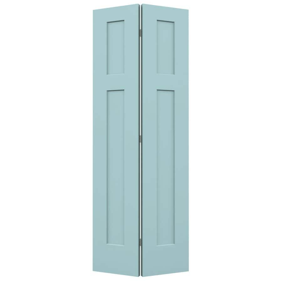 Shop jeld wen craftsman sea mist hollow core molded for Door 31 5 x 79