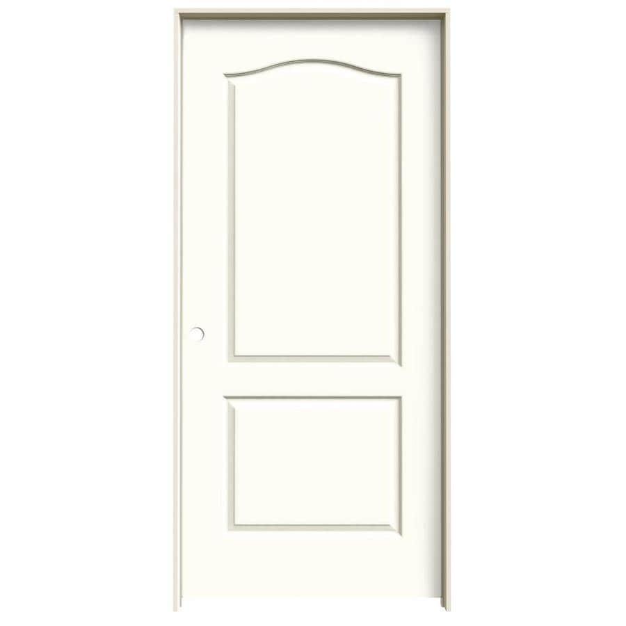 JELD-WEN Princeton Moonglow Single Prehung Interior Door (Common: 36-in x 80-in; Actual: 37.562-in x 81.688-in)