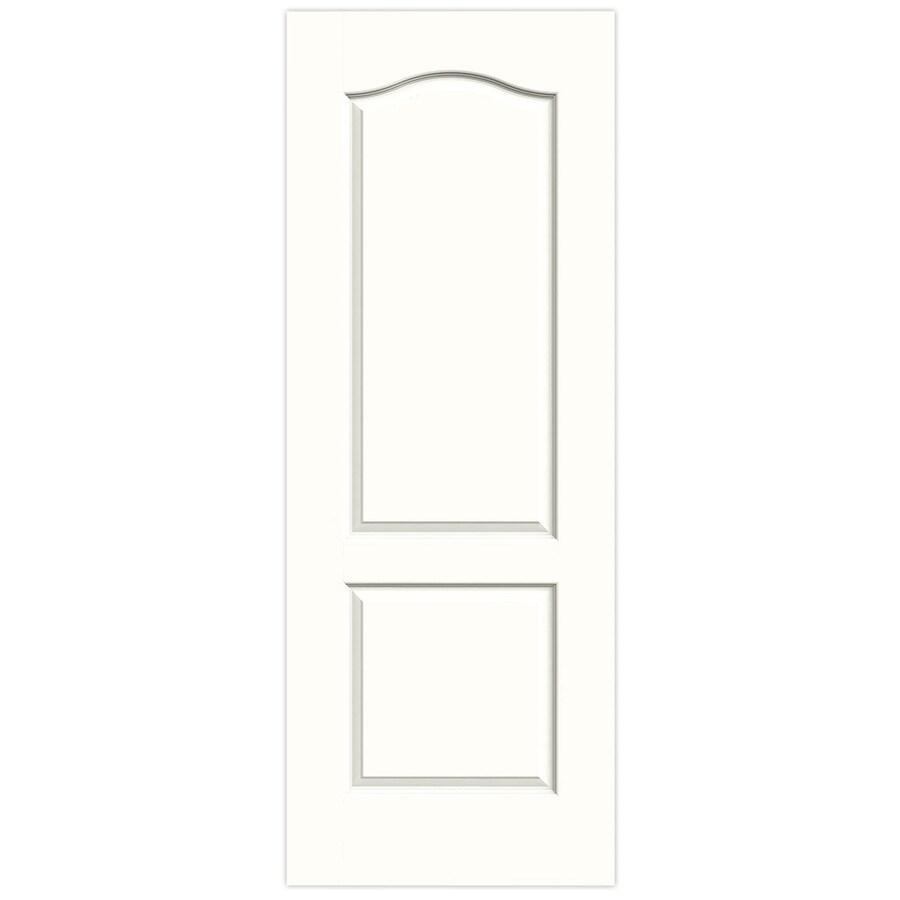 JELD-WEN Princeton Snow Storm Hollow Core Molded Composite Slab Interior Door (Common: 32-in x 80-in; Actual: 32-in x 80-in)