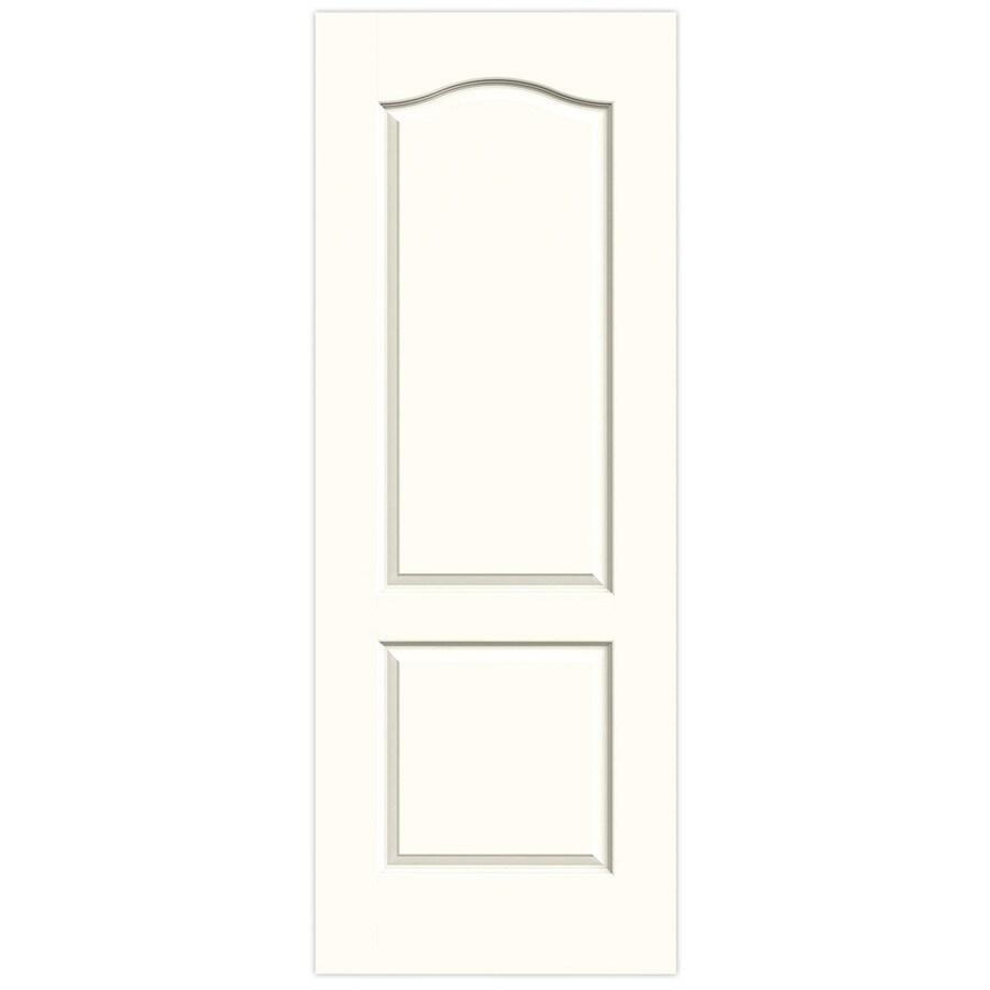 JELD-WEN Moonglow Hollow Core 2-Panel Arch Top Slab Interior Door (Common: 24-in x 80-in; Actual: 24-in x 80-in)