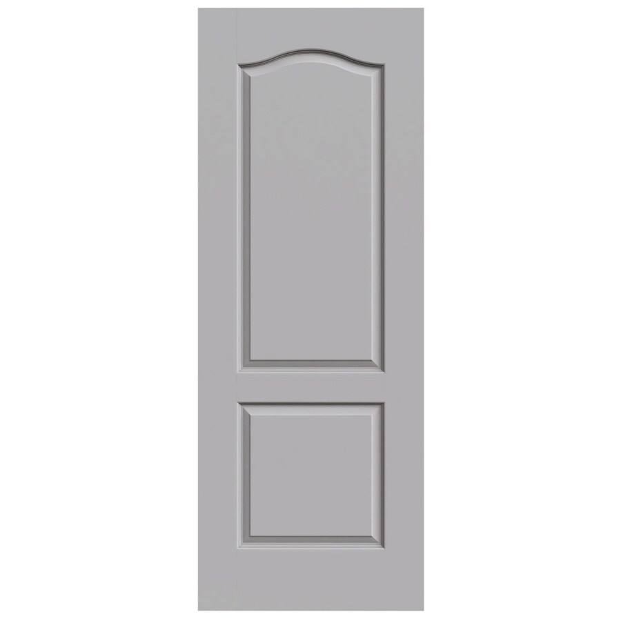 JELD-WEN Princeton Driftwood Slab Interior Door (Common: 32-in x 80-in; Actual: 32-in x 80-in)